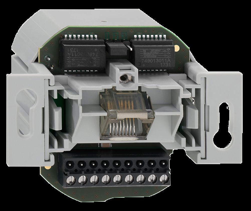 """Der PoE-Injektor """"Up"""" von Rutenbeck ist die erste PoE-Installationslösung für die Unterputzdose."""